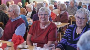 Christina Ling,  ordförande i Göta och Leif Wessels stiftelse, var mycket nöjd med arrangemanget på Fröjdvallen.