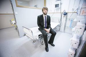 Simon Nilsson, tf verksamhetschef för ambulanssjukvården i Gävleborg.