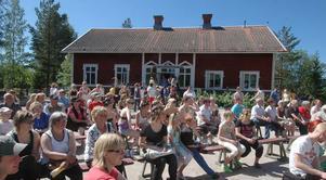 Intresset för Dansforum är stort och många hade kommit för att titta på dansuppvisningarna.
