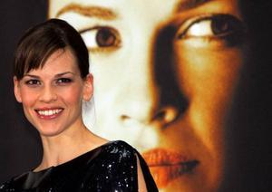 Hillary Swank har vunnit två Oscar och är mycket uppskattad av många.  På bilden i Berlin förra året i samband med filmen Freedom Writers.
