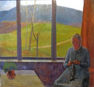 Målning av Per Englund.