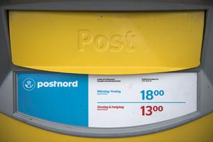 En postlåda sprängdes på Önagatan 2 i Mora natten till torsdag 3 november.