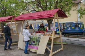 En mat- och hantverksmarknad kommer finnas på plats även i år.