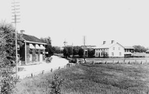 Härjedalsvägen i Färila i början av 1900-talet.