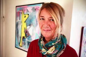 Anneli KentHar målat hela livet och har nu sin första större separatutställning på Härke.