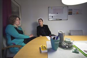 Anna Forssén, personalchef i Fagersta kommun, och Anders Kilström, kommunchef. De har skrivit ett förslag till strategi i arbetet med heltid som norm - som delvis ratas av politikerna.