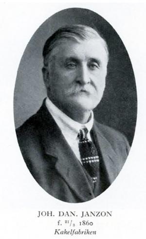 Johan Daniel Janzon, född 1860 i Forsa, som startade verksamheten i Böle. Från Hälsinglands museum