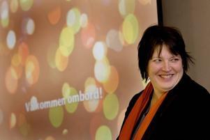 Kommunalrådet Carina Blank (S) har lett arbetet med att ta fram en ny vision för Gävle. En vision som sträcker sig till 2025. Och i går presenterade hon resultatet – fyra meningar som ska leda Gävle in i framtiden.