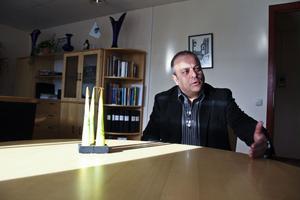 Mohamed Chabchoub, chef på Arbetsförmedlingen i södra Hälsingland. Arkivbild.