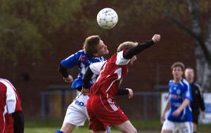 Delsbos Niklas Sundberg avgjorde definitivt DM-kvartsfinalen med sitt 2–0-mål.