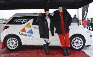 Andreas Sjölander och Sofie Lundmark hoppas på en pallplats i Rally Bilmetro.
