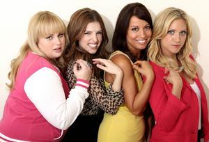 Rebel Wilson, Anna Kendrick, Kay Cannon och Brittany Snow från
