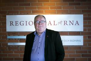 Leif Nilsson, ordförande i Region Dalarna.