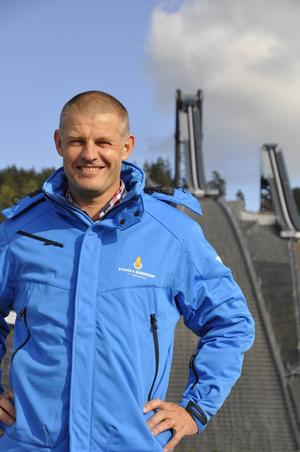 Jimmy Birklin, vd för Svenska Skidspelen.