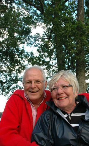 BRA DAG. Söderforsparet Lars-Åke och Margareta Berglund tyckte dagen var bra.