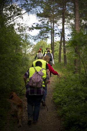 I juni deltog 120 personer från organisationen Missing People i en skallgång efter en saknad person i Göteborg. Organisationen har tidigare hittat försvunna människor.