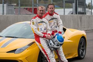 Richard Göransson, t v, och Martin Nelson.