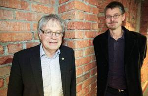 Håkan Larsson och utredningssekreterare och utredningskollegan Jens Andersson