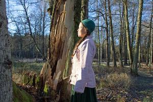 Anna-Christina Hunt har en viss förkärlek för gamla träd.