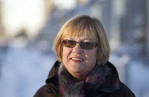 Lena Lundgren, S, ordförande i omvårdnadsnämnden är nöjd med upphandlingsunderlaget för hemtjänsten.
