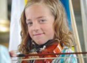 Elise Brynjestål var en av solisterna på nationaldagen