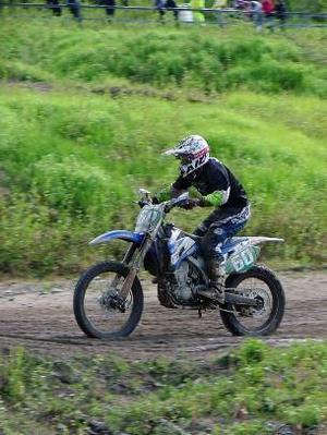 Markus Sjögren, Krokoms motocrossklubb, slutade på tredjeplats när Mitt Sverige Cupen fortsatte i Sollefteå.
