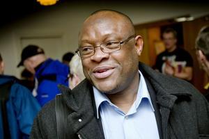 Wellington Ikuobase blev vald till ny LO-ordförande i Gävle.