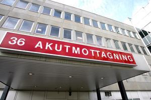 Akuten på Västerås sjukhus.