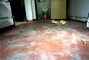 Foto: GUN WIGH Smutsigt. Nu måste Olsbackagården stänga eftersom ingen städar på grund av strejk
