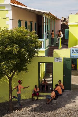 São Filipe på ön Fogo är charmig med sina färgglada 1800-talshus.