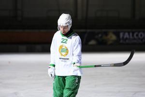 Kalle Mårtensson var besviken efter 2–2 mot Tellus.