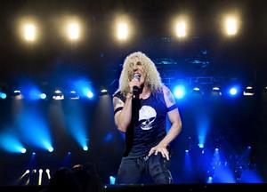Twisted Sisters sångare Dee Snider. Foto: Claudio Bresciani / Scanpix