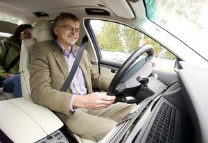 Det var 2008 som Per Åsling fick låna en vätgasbil.