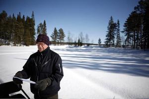 Genom att bygga lokalgator vid strandområdet i Offne underlättas friluftslivet, menar Ulf Johansson. Men regeringen har en annan uppfattning- exploateringen hindrar friluftslivet, menar man i en dom.
