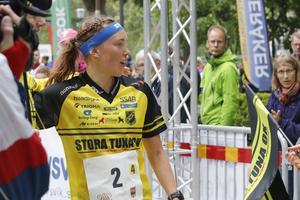 Tove Alexandersson höll tempot och fokuset på sista sträckan och sprang hem guldet.