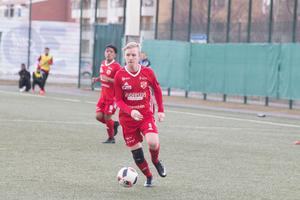 Filip Norgren gjorde Sala FF:s enda mål.