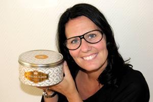 Petra Abrahamsson är mycket glad och stolt över företagets kungliga beställning.