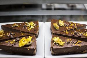 Chokladkaka utan gluten.