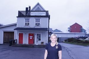Margit Sundbergh skulle kunna tänka sig att bo i gamla brandstationen där hon har sin mottagning.