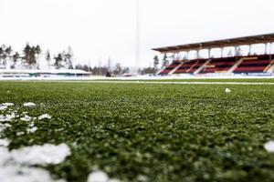Jämtkraft Arena, här i vinterskrud, kan rustas upp om Östersund blir arrangörsort för U20-VM.