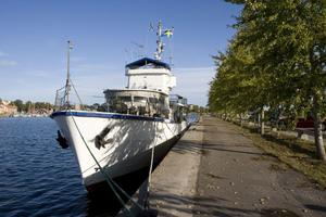 Jerker Svenssons minsvepare kan bli turbåt i Hudiksvalls skärgård, om Företagarna lyckas hitta intressenter.
