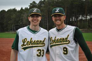 Per Sjörs och nya amerikanen Joel Belk var med och bidrog till Leksands bägge segrar mot Stockholm.