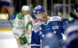 Leksands Alexander Ytterell efter 3-1.