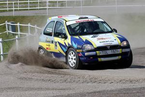 Ingemar Svensson, Flens MS, vann SM-guldet i den häftigaste rallyklassen, den för 4WD.