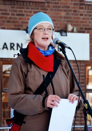 Eva Frank, ordförande för Lärarförbundet i Östersund.