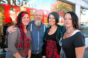 Studio Rebel. Veronica Israelsson, Roland Mähl, Linda Solvold och Tina Larsson.