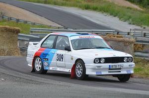 Oskar Sundell segrade i tvåhjulsdrivna rallyklassen efter en hård kamp med Micke Lundberg och Tobias Söderqvist.