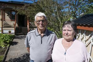 Sten och Birgitta har lagt mycket tid på sitt hem