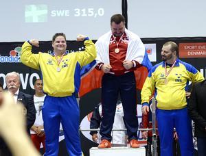 Siktet var inställt på guld, men Christoffer Öberg från Sundsvalls Atletklubb fick nöja sig med ett VM-silver.