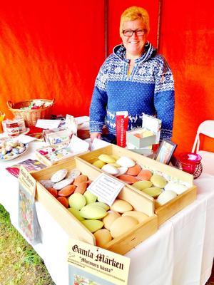 Ulla Jonsson från Ulla Villerkulla var en av marknadsdeltagarna förra året.